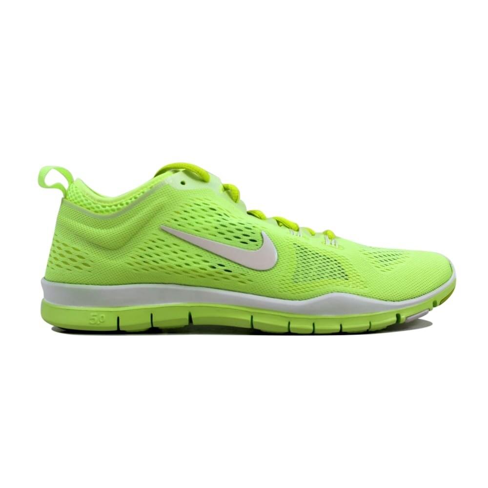 low priced 47107 8f97b Nike Free 5.0 TR FIT 4 Breath Liquid Lime White-Venom Green Women s  641875-300 Size 12 Medium