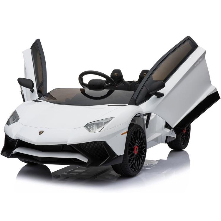 Shop Mini Moto Lamborghini 12v White 2 4ghz Rc Free Shipping