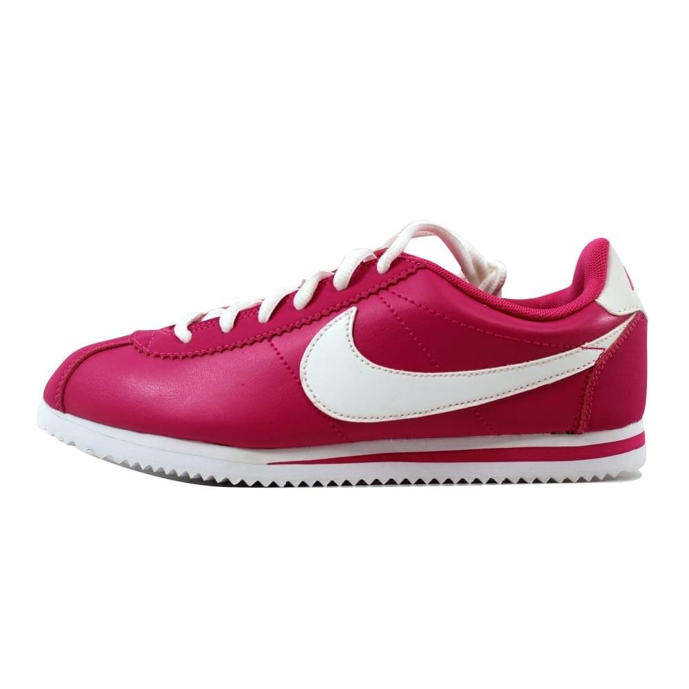 1ba22b7e506e Shop Nike Cortez Vivid Pink White 749502-600 Grade-School - Free Shipping  Today - Overstock - 20617766