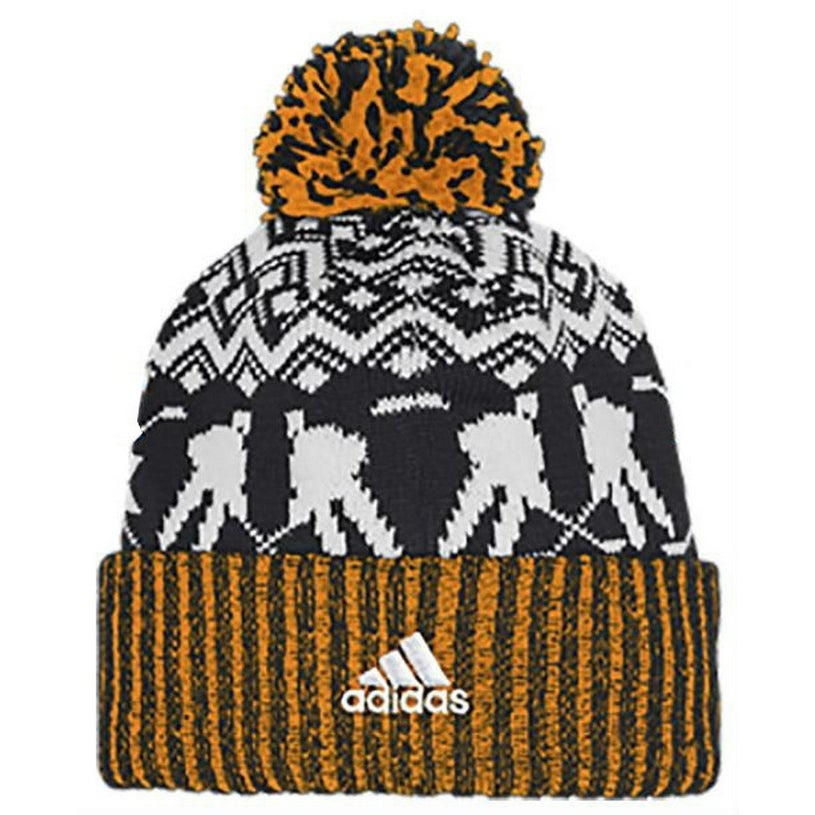 cc9a0d71811 Shop Adidas Men s NHL Pittsburgh Penguins Stocking Knit Hat Beanie Winter  11FIZ - Free Shipping On Orders Over  45 - Overstock - 26051683
