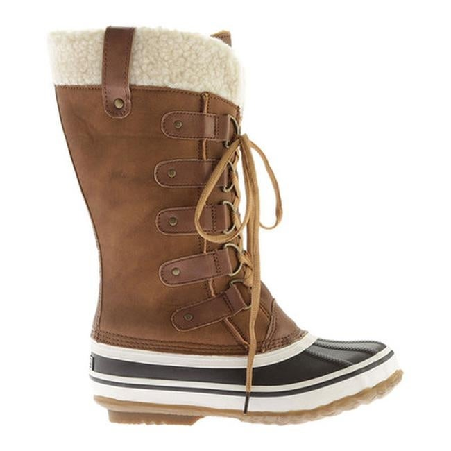 Shop Portland Boot Company Women s Duck Duck Tall Snow Boot Tan - Free  Shipping On Orders Over  45 - Overstock - 18823496 5e5ee1748d