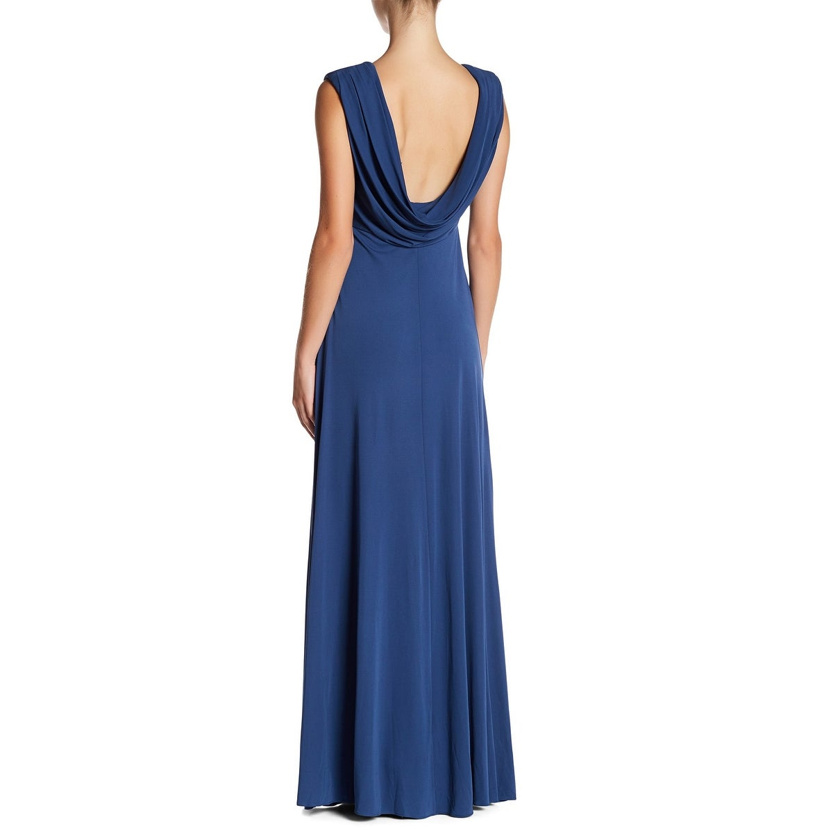 a1871486f369 Shop Vera Wang Sleeveless Draped Back Gown, Ink, 2 - Free Shipping Today -  Overstock - 26173001