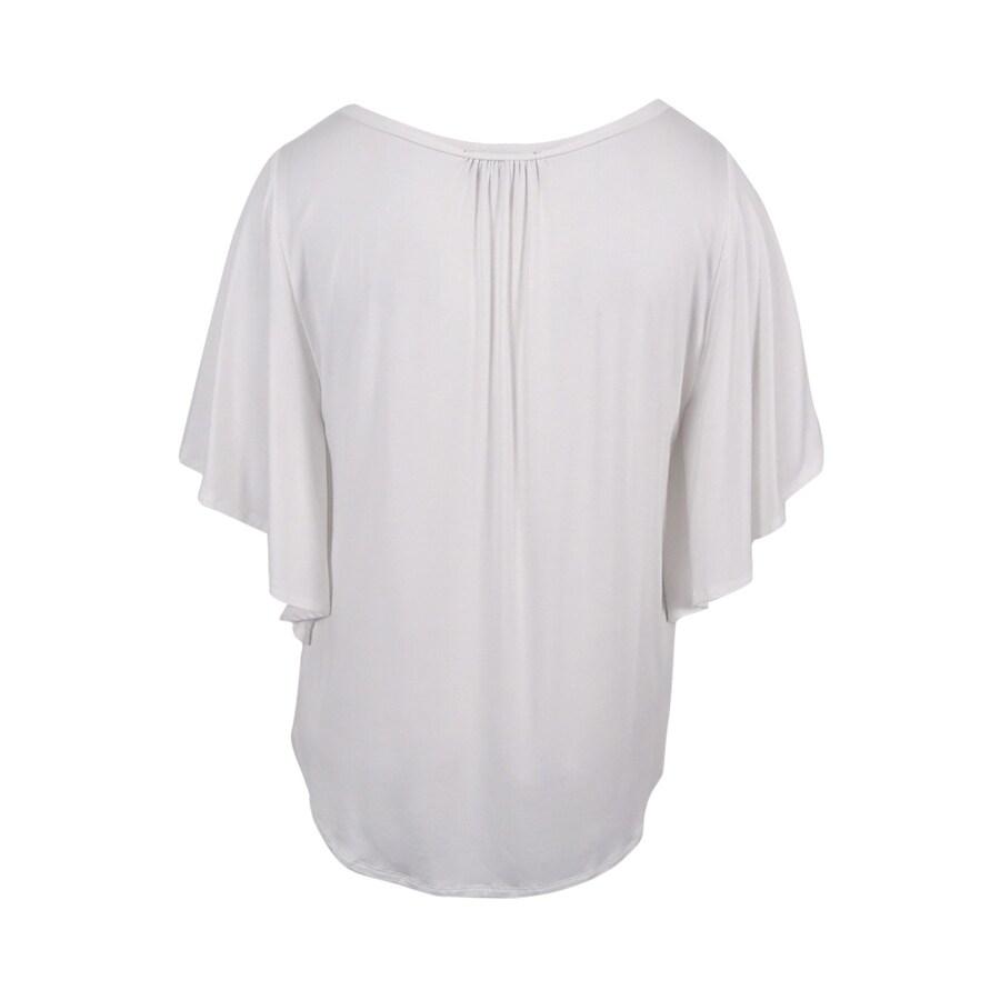 a5727225c64a41 Shop Karen Kane Women s Angel Sleeve Top (XL