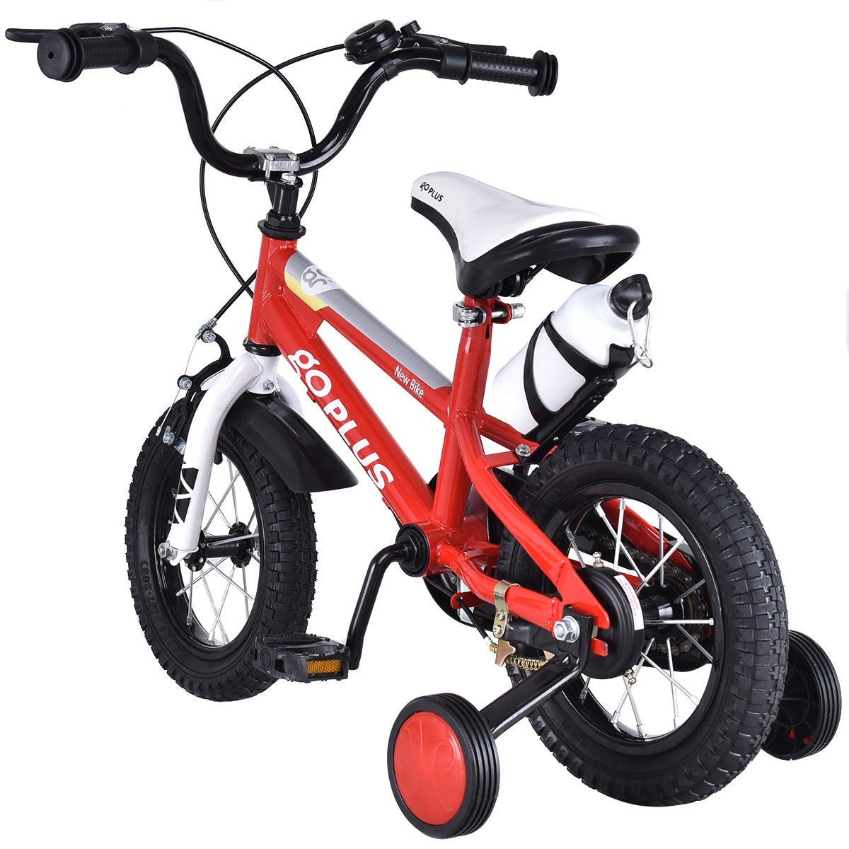 cf409142140 Shop Goplus 20   Freestyle Kids Bike Bicycle Children Boys   Girls w  Training Wheels Red - Free Shipping Today - Overstock - 18540988