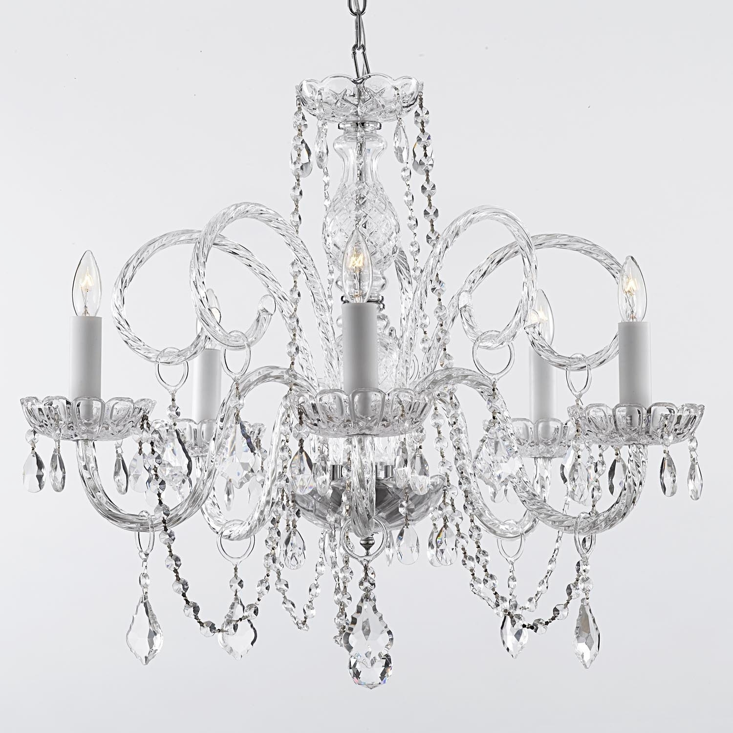 crystal chandelier youtube maria theresa watch lighting