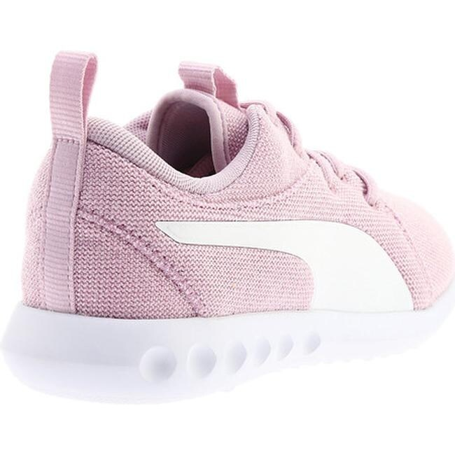 Shop PUMA Women s Carson 2 Knit NM Sneaker Winsome Orchid PUMA White Knit -  Ships To Canada - Overstock - 25558856 04ddeb8b8