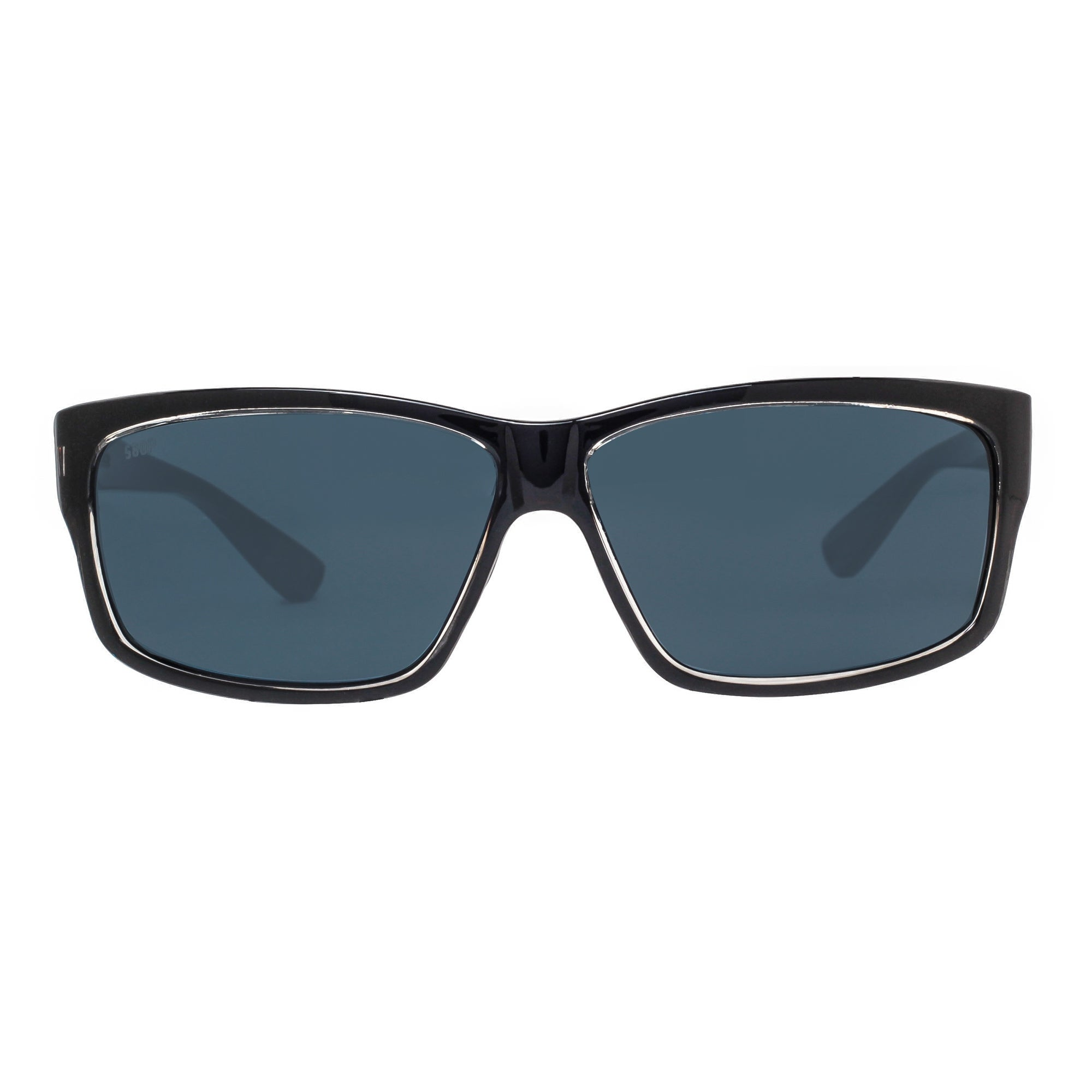 892751d3b1e05 Shop Costa Del Mar Cut UT47OGP Squall Black 580P Gray Polarized Rectangle  Sunglasses - squall black - 59mm-18mm-120mm - Free Shipping Today -  Overstock - ...