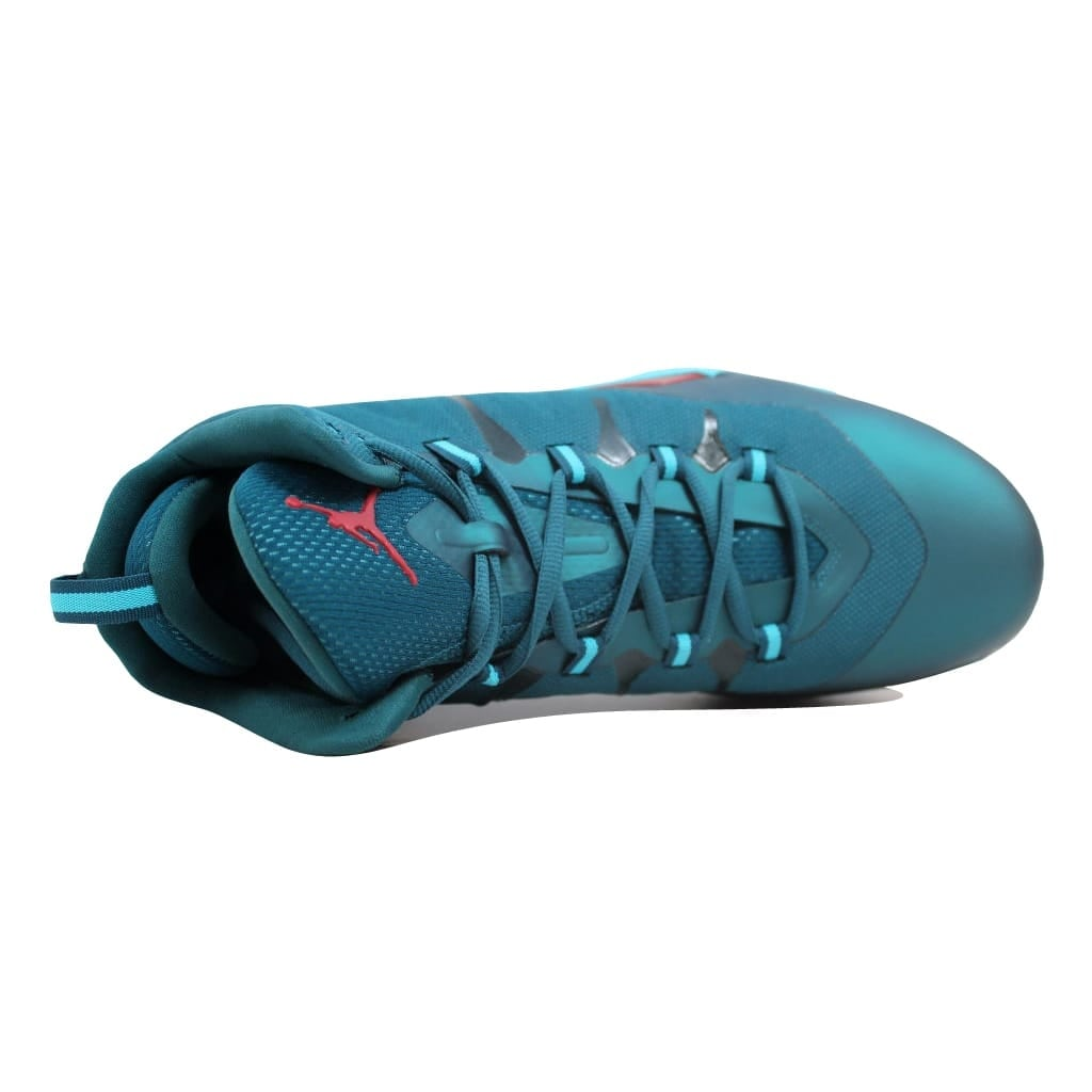 the latest 3d3b5 deaa4 Shop Nike Men s Air Jordan Super Fly 2 Dark Sea Gym Red-Gamma Blue-White  599945-308 Size 12.5 - Free Shipping Today - Overstock - 20129837