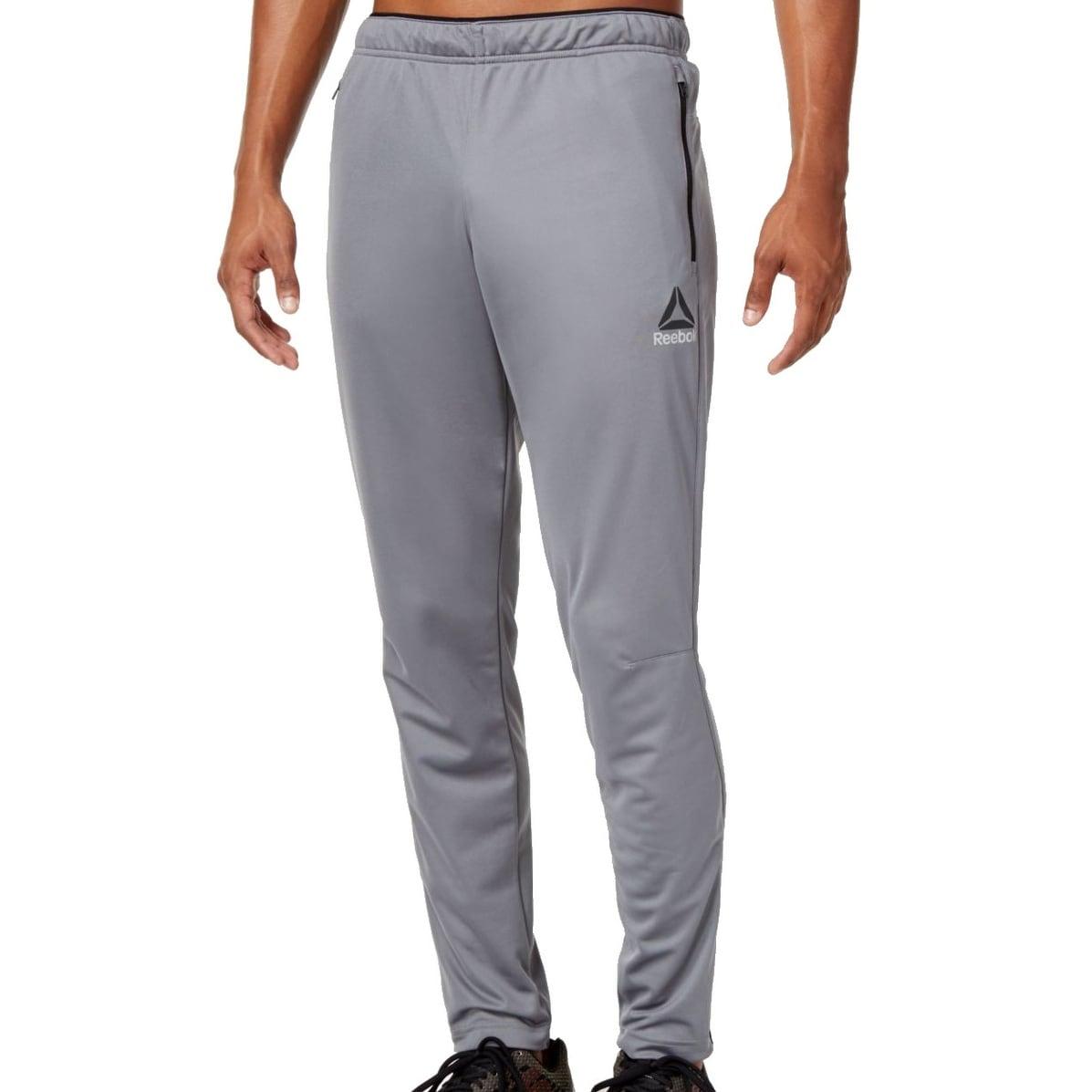 b89b53e42b637 Shop Reebok NEW Gray Mens Size XL Speedwick Performance Slim Track Pants -  Free Shipping On Orders Over  45 - Overstock - 20883832