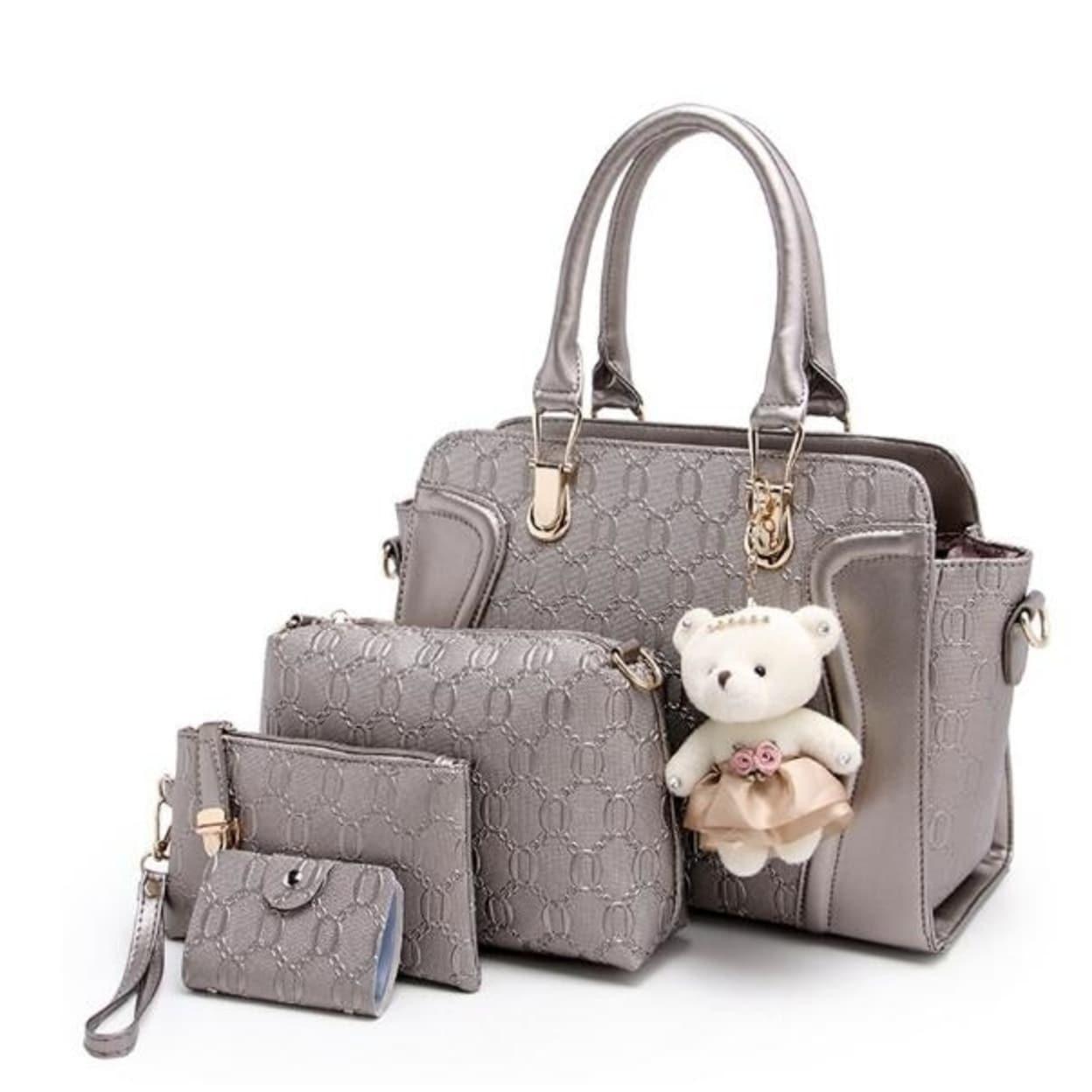 b39d4582a Shop Vogue Women's PU Leather Shoulder Bags Designer Messenger Bags Ladies  Handbag Women's Clutch Handbags Purses Wallets - Free Shipping Today -  Overstock ...
