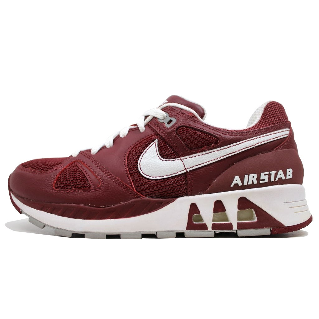 new style ab146 35dfc Shop Nike Air Stab Red Earth White-Medium Grey 315841-611 Men s - Free  Shipping Today - Overstock - 19507989