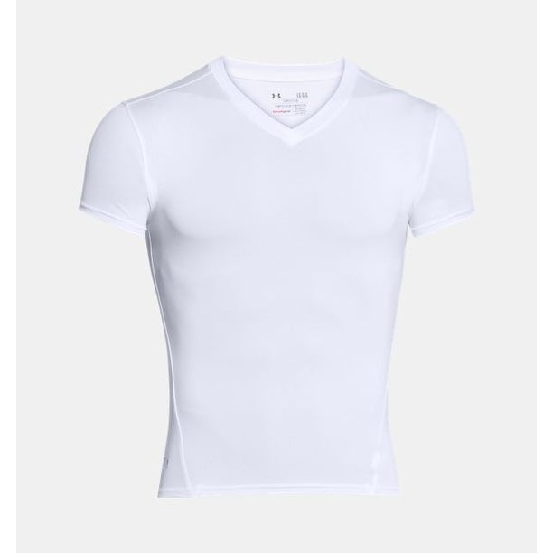 cb6a672dc Shop Under Armour Tactical HeatGear Compression V-Neck T-Shirt White XXL -  Ships To Canada - Overstock - 18062464
