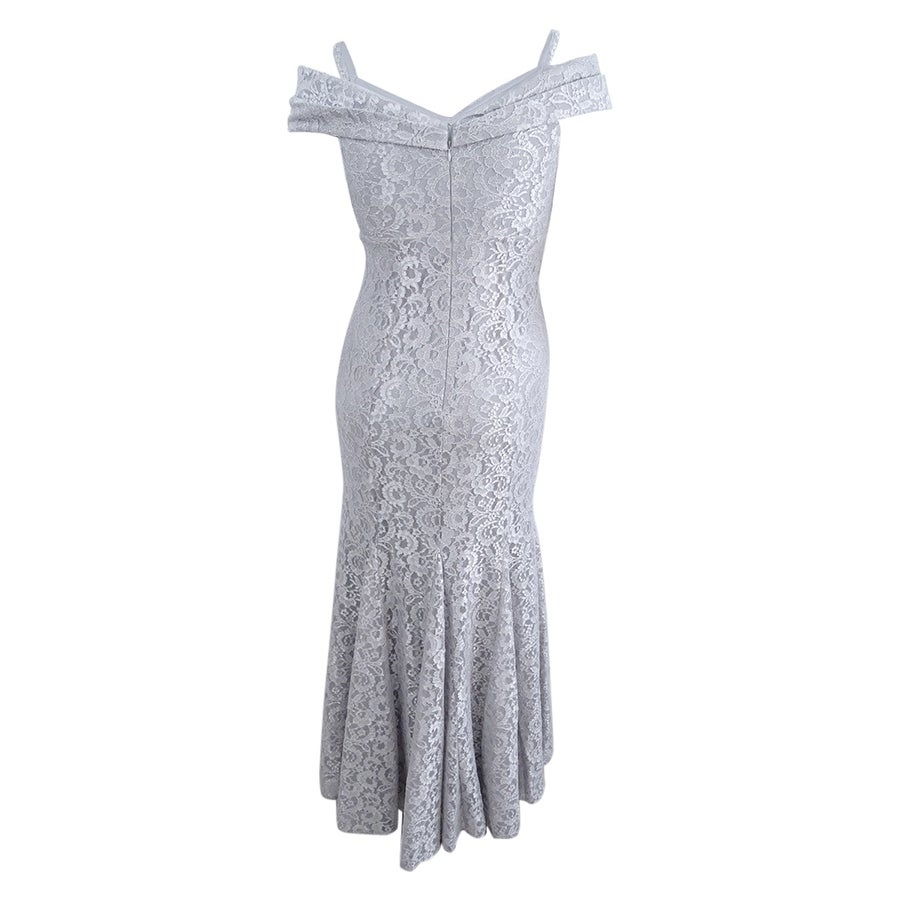 211ca2862ab Shop R M Richards Women s Off-The-Shoulder Lace Gown (12