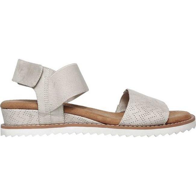 aec39f555354 Shop Skechers Women s BOBS Desert Kiss Slingback Sandal Off White - On Sale  - Free Shipping On Orders Over  45 - Overstock - 19552424