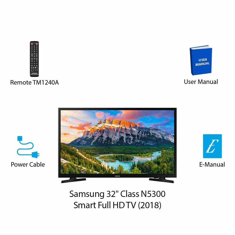 472e5ff6a Shop Samsung 32 Inch Class N5300 Smart Full HD TV -2018 32 Inch Class N5300  Smart Full HD TV -2018 - Free Shipping Today - Overstock - 24241832