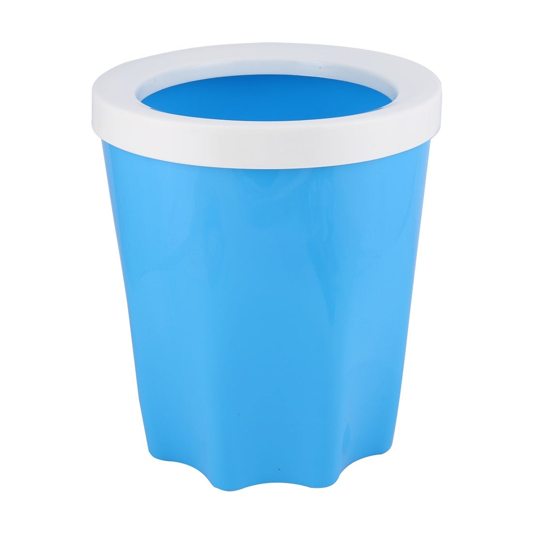 Kitchen Bathroom Plastic Waste Rubbish Garbage Trash Can Holder ...