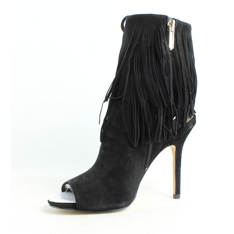 cff19499d6294 Shop Sam Edelman Womens Arizona Black Open Toe Heels Size 5 - Free Shipping  On Orders Over  45 - Overstock.com - 25692171