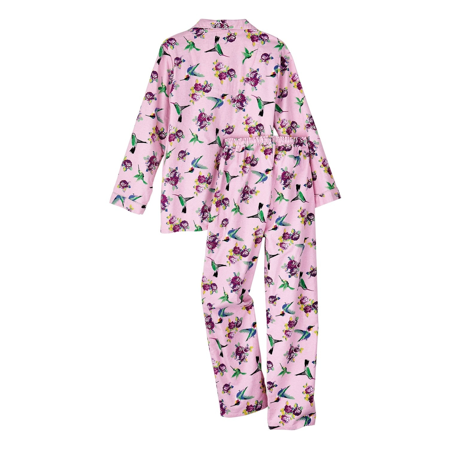 Shop Women s Hummingbird Flannel Pajamas - Cute PJs - Free Shipping On  Orders Over  45 - Overstock - 18509619 d07ccc9c0