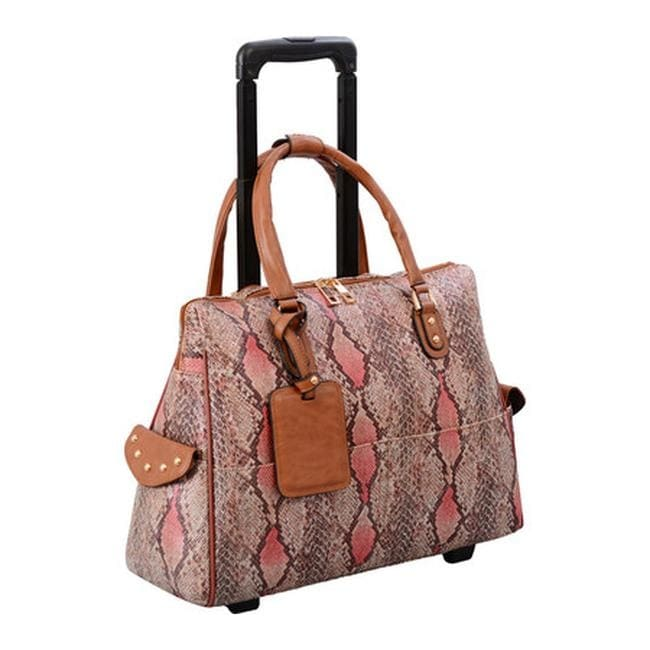 Mellow World Women s Rogue Carry-On Laptop Roller Bag Large Salmon - US  Women s One Size (Size None) 123d27141