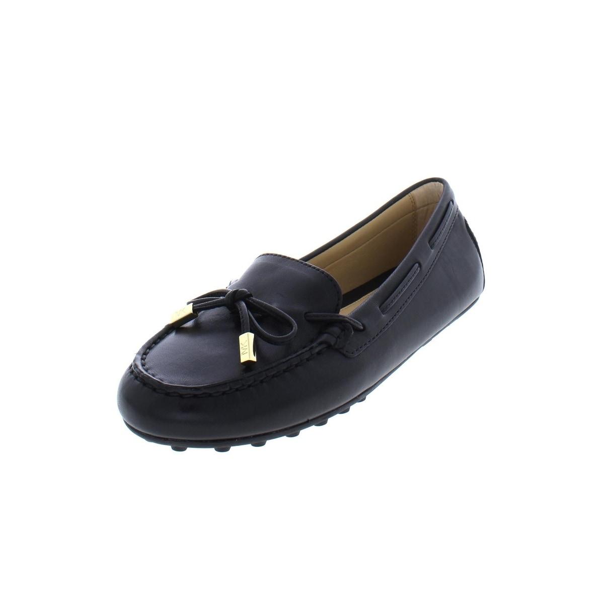 0bca8efeba8d2 MICHAEL Michael Kors Womens Daisy Moccasins Leather Flats