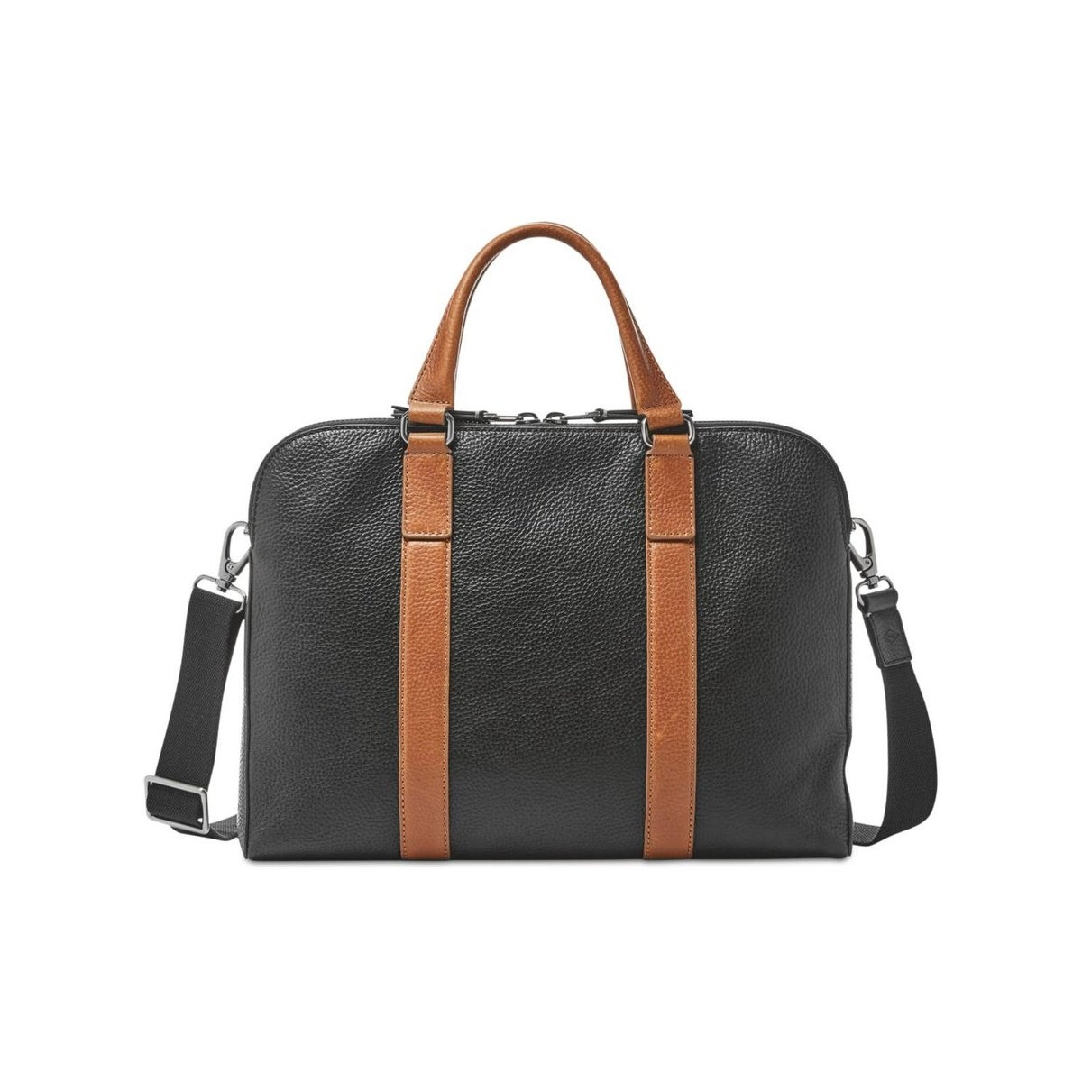 Fossil Mens Mayfair Messenger Briefcase Leather Workbag Large Free Shipping Today 22680406
