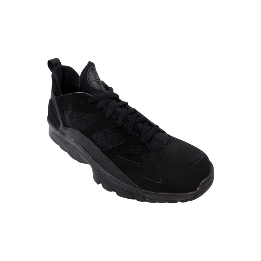 60253e3f31b8 Shop Nike Air Trainer Huarache Low Black Black 749447-001 Men s - Free  Shipping Today - Overstock - 27993561