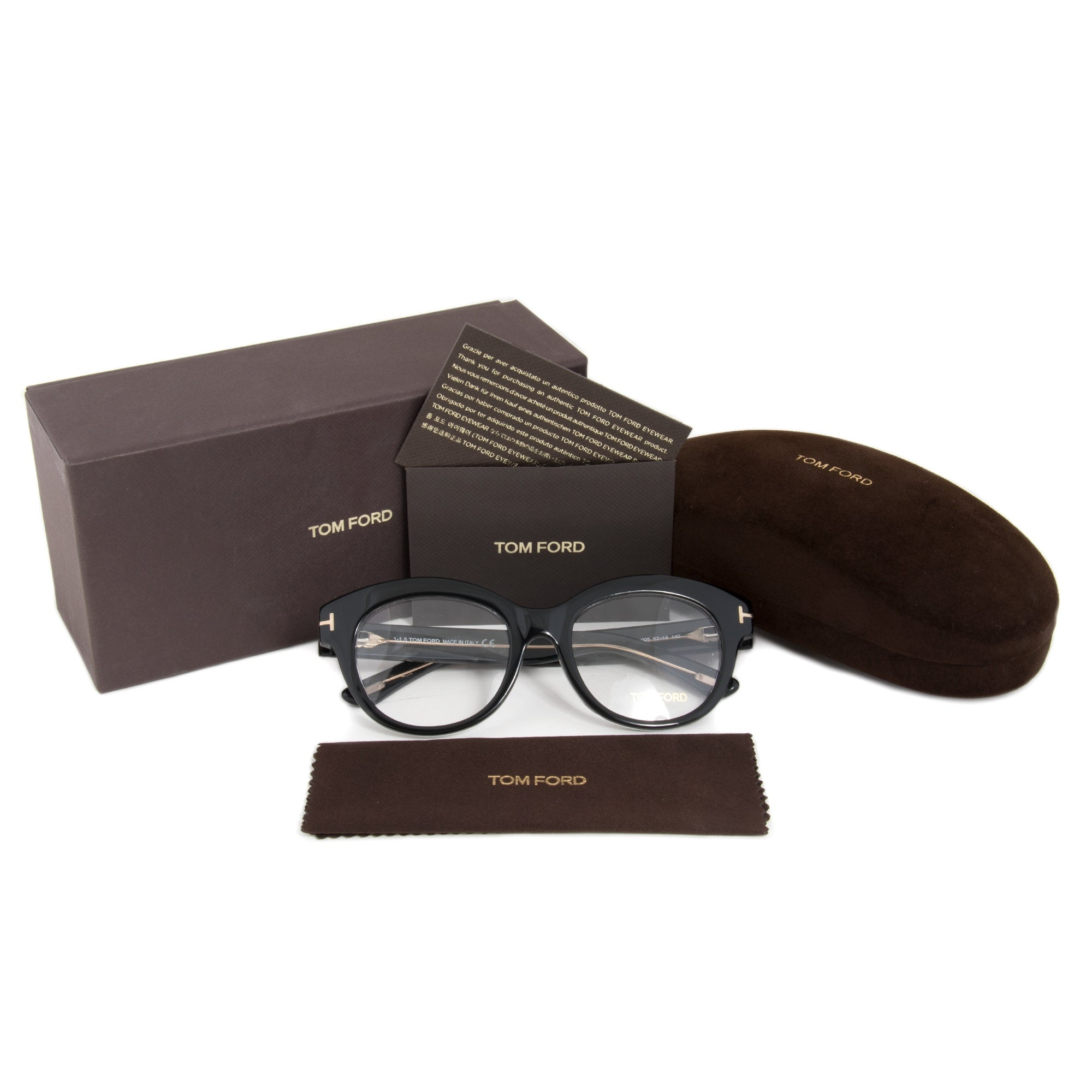 32196df163b Shop Tom Ford Eyeglasses Frame TF5377 005 - Free Shipping Today - Overstock  - 19622822
