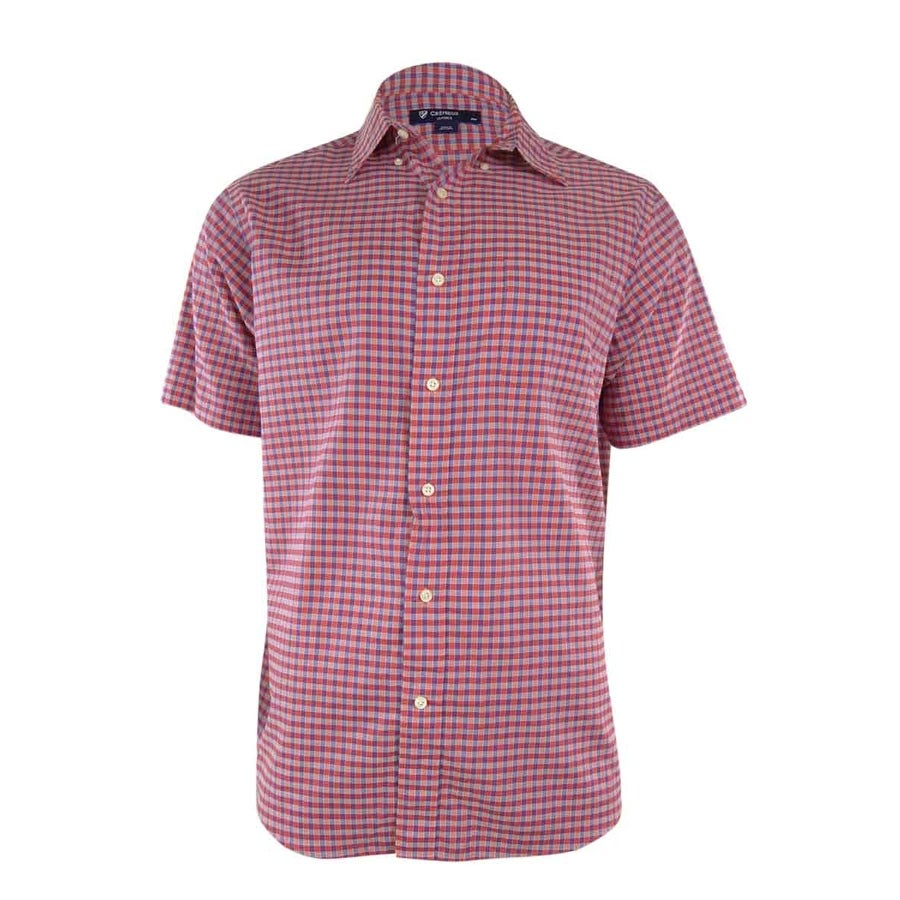 86f28c5b081 Shop Cremieux Classics Men s Mini Check Woven Shirt - Red Blue - XL - Free  Shipping On Orders Over  45 - Overstock.com - 15019519