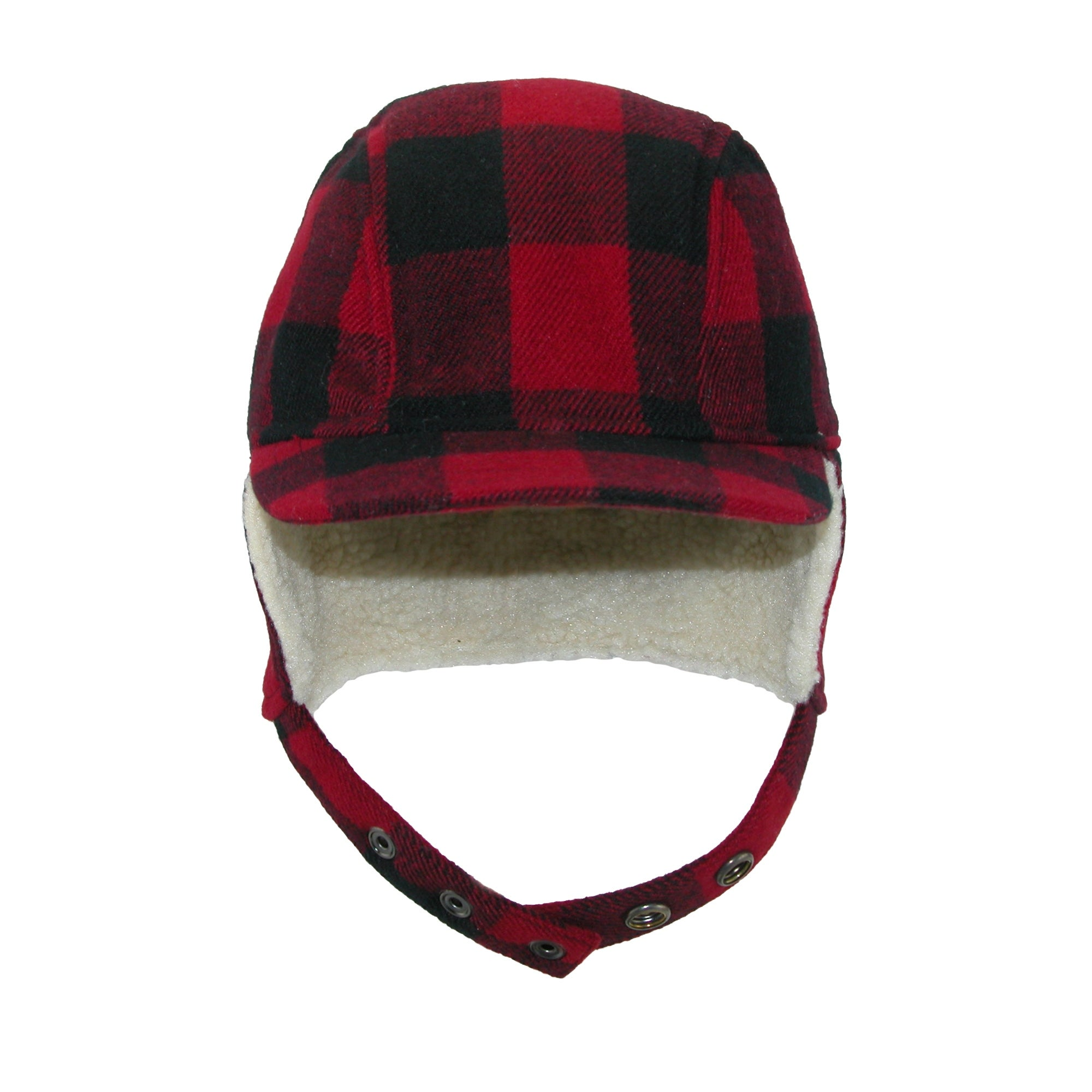 Shop Broner Men s Wool Plaid Outdoor Cap with Sherpa Earflaps - Free  Shipping On Orders Over  45 - Overstock - 17654229 434a34c23c15