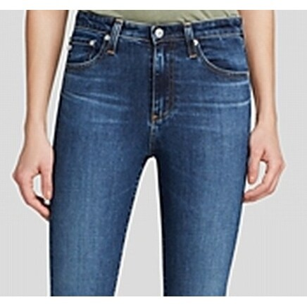 1555a39fb89 Shop Alexa Chung For AG NEW Blue Womens Size 30 Stretch Capri Cropped Jeans  - Free Shipping Today - Overstock - 18769493