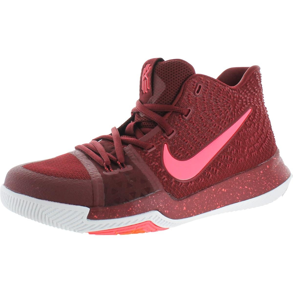 on sale e19d8 d1793 Shop Nike Boys Kyrie 3 Basketball Shoes Colorblock Mids - Free Shipping  Today - Overstock - 22025161