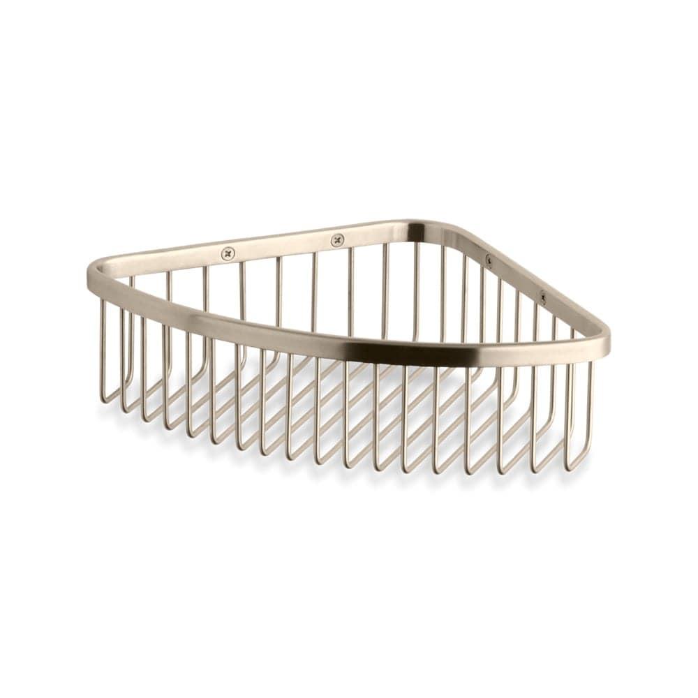 Shop Kohler K-1897 Corner Shower Basket - Free Shipping Today ...