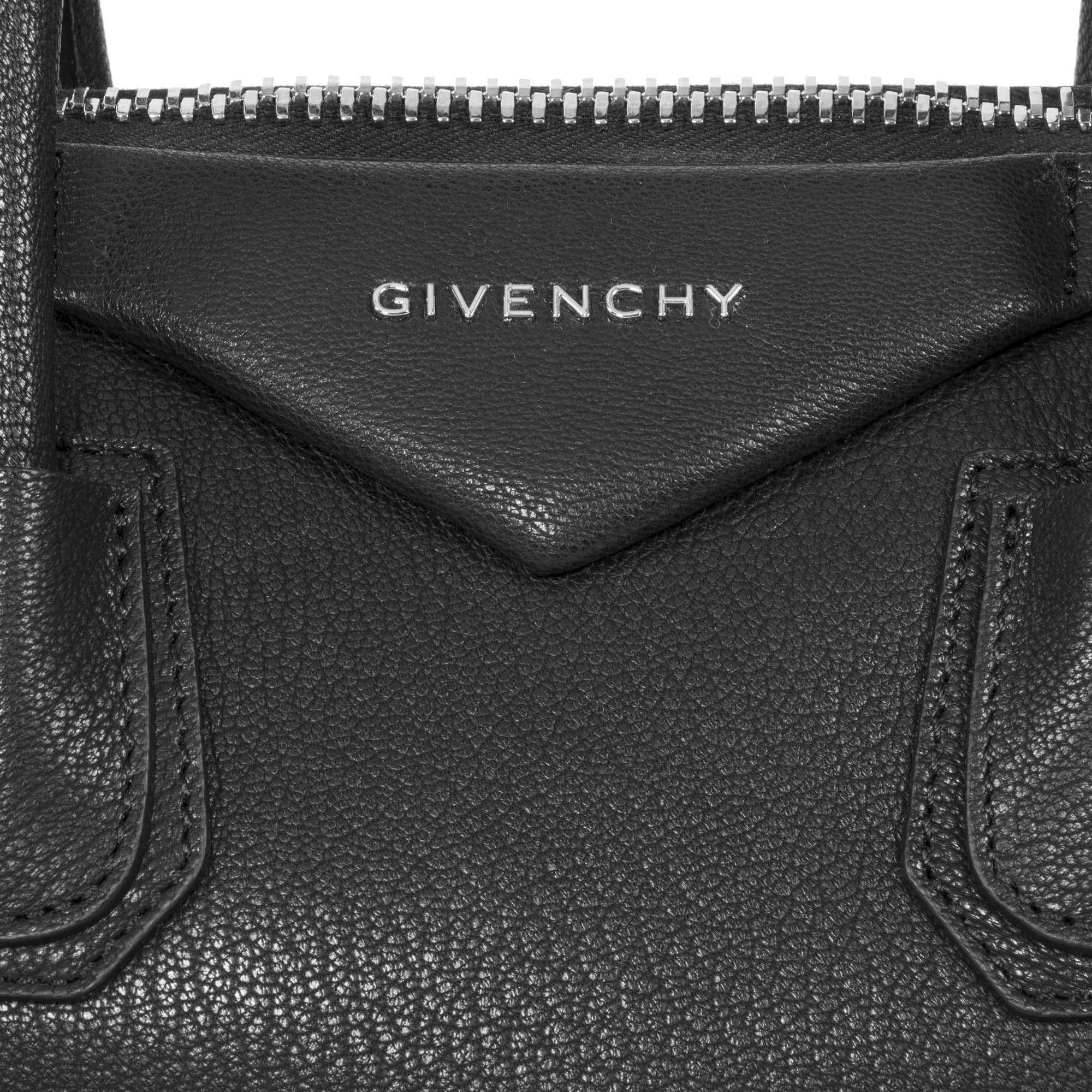 7c456c69cd Shop Givenchy Antigona Sugar Goatskin Leather Satchel Bag - Free Shipping  Today - Overstock - 23086529