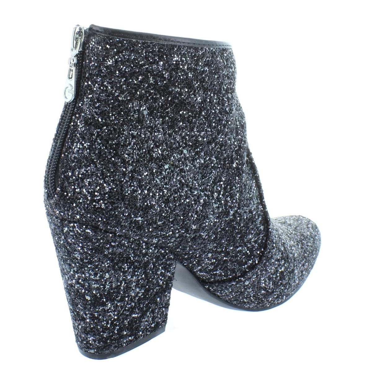b737f584c547 Shop G by Guess Womens Nite3 Booties Glitter Textured Block Heels - Free  Shipping On Orders Over  45 - Overstock - 25441891
