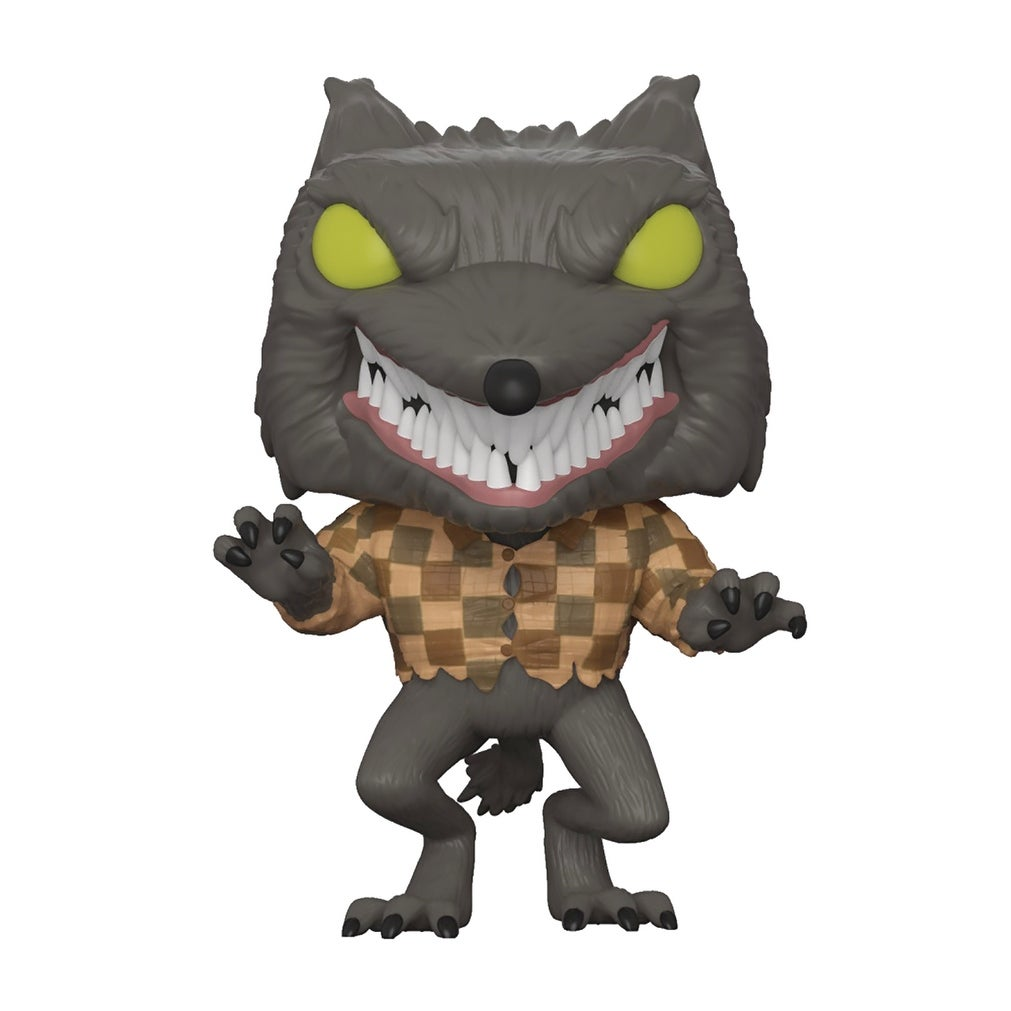 Shop FunKo POP! Disney Nightmare Before Christmas Wolfman Specialty ...