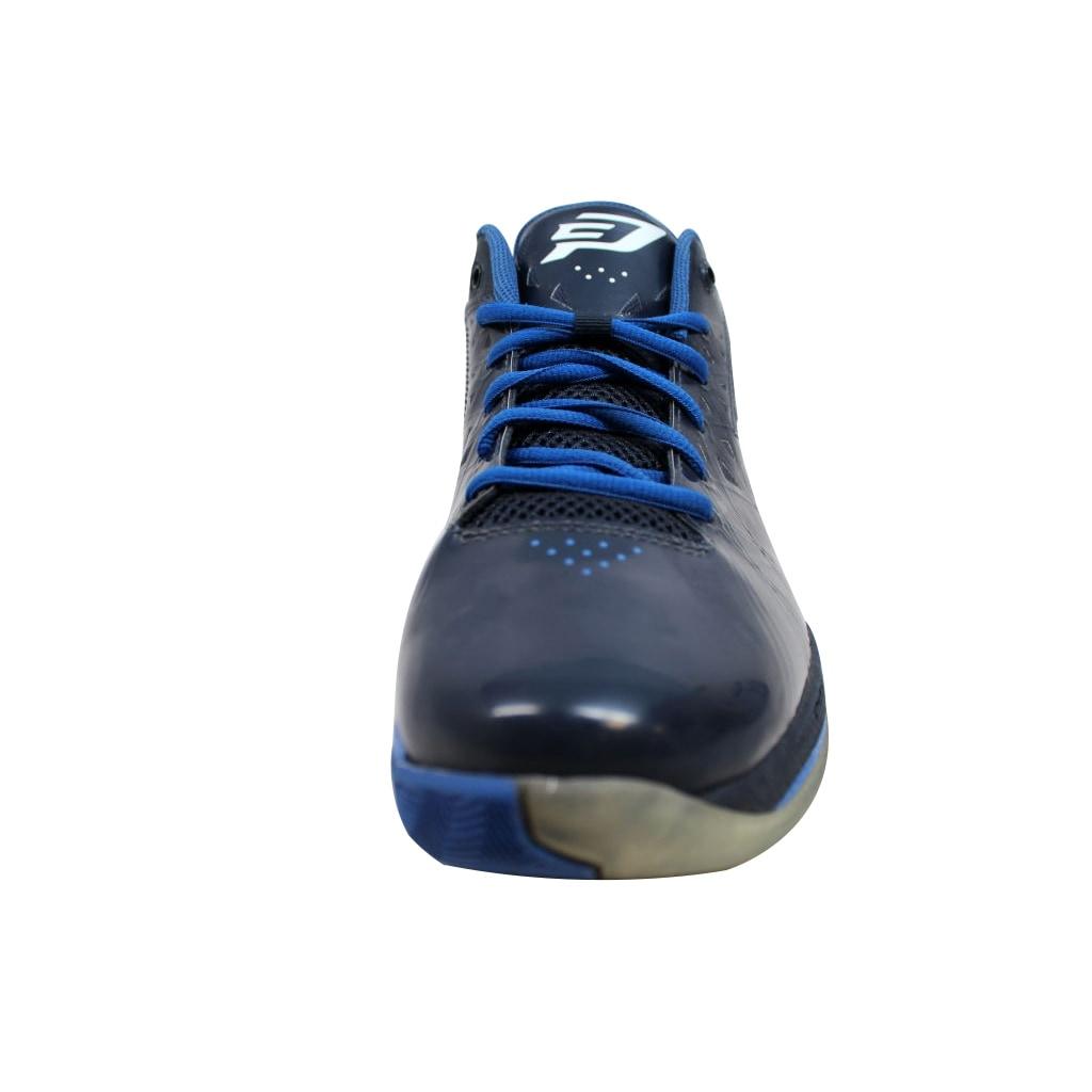ec6494b3fe203a Shop Nike Men s Air Jordan CP3 V 5 Obsidian White-Game Royal 487428-400 - Free  Shipping Today - Overstock - 19507911