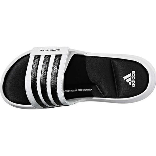 5389a84bea72 Shop adidas Men s Superstar 5G Slide Sandal White Black White - Free  Shipping On Orders Over  45 - Overstock - 20722398
