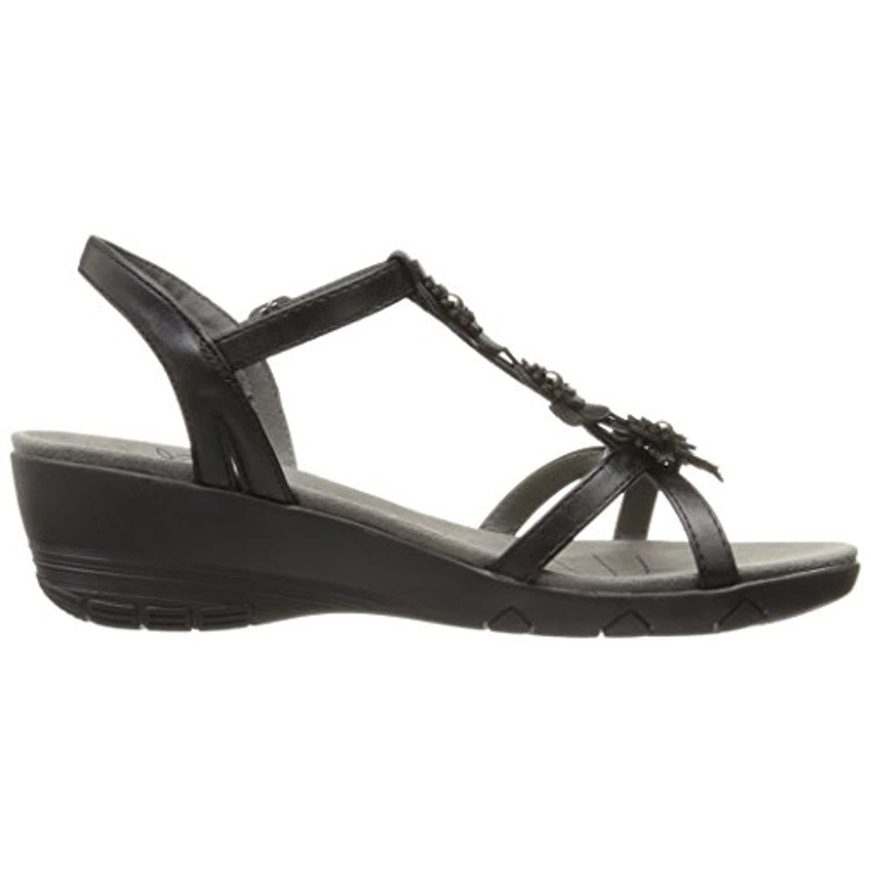 062be0e8e5 Shop BareTraps Women's Hammond Wedge Sandal, Black - Free Shipping Today -  Overstock - 18281371