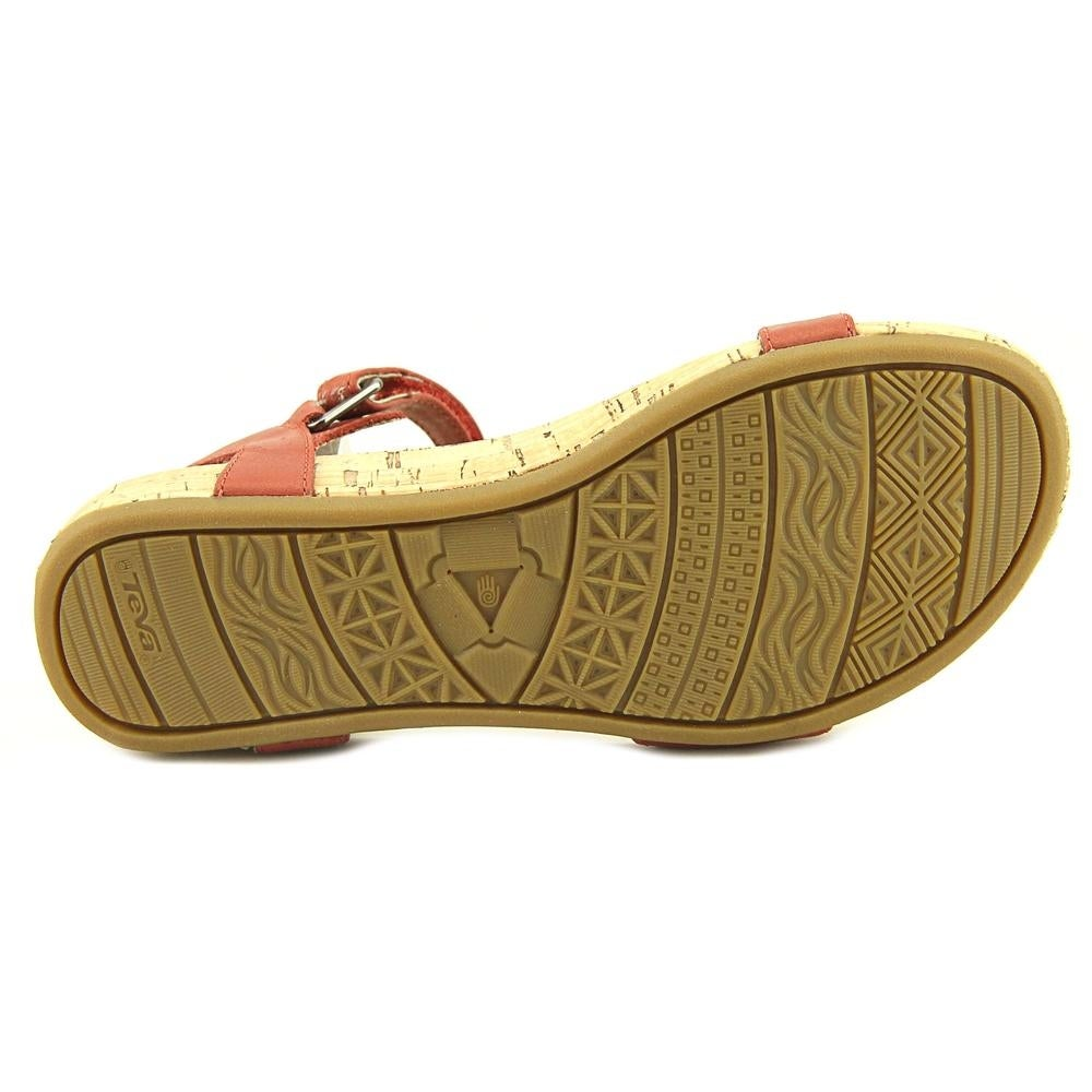 cbe50b24d0ae Shop Teva Capri Universal Pearlized Red Sandals - Ships To Canada -  Overstock - 19475725