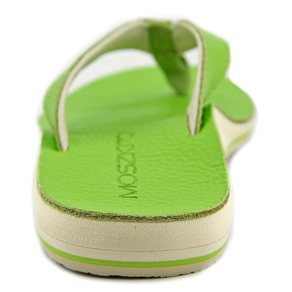 0f0ab2d998abc Shop Moszkito Wing Women Open Toe Leather Green Flip Flop Sandal - Free  Shipping On Orders Over  45 - Overstock - 14468223