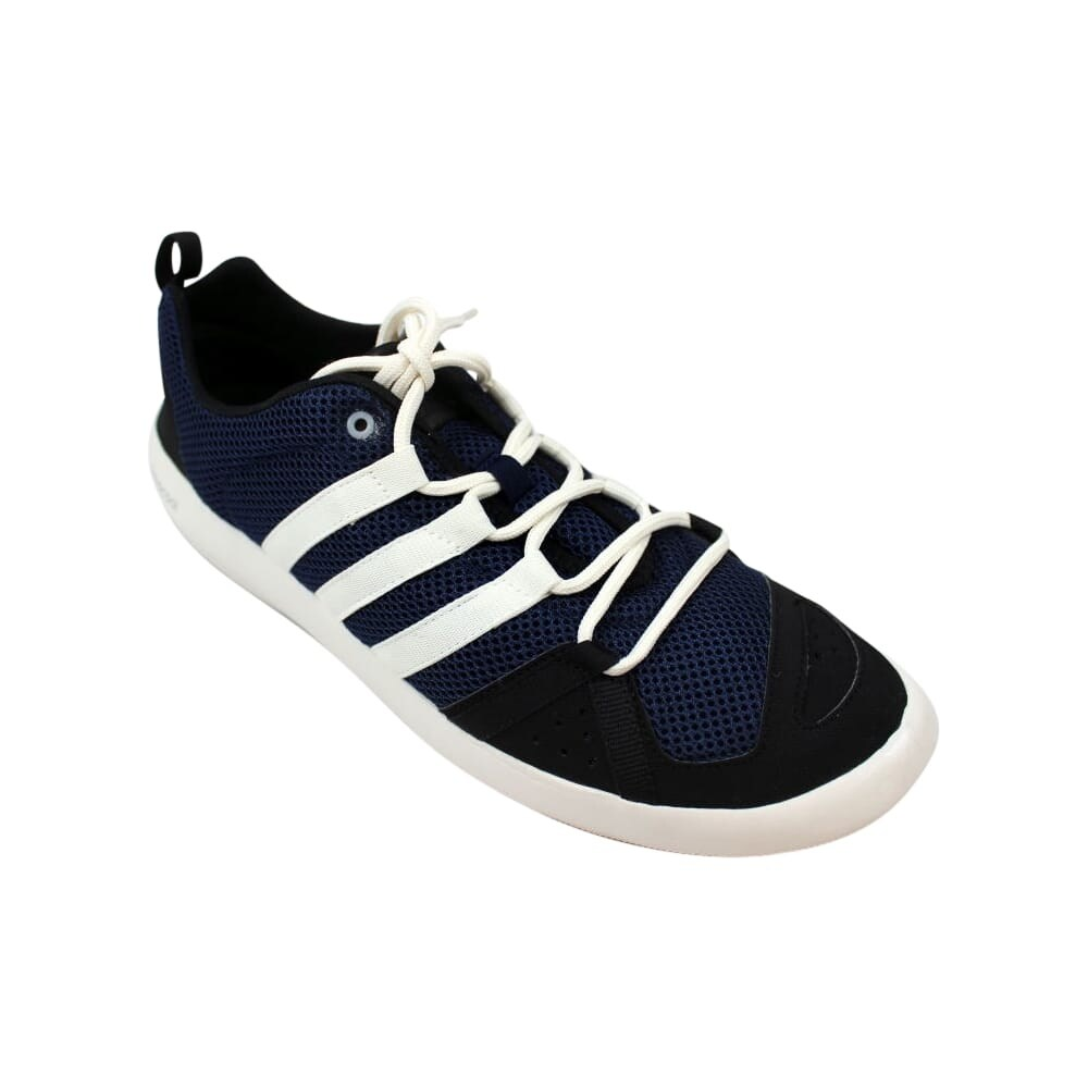 7d8ac89bf978 Shop Adidas Climacool Boat Lace Navy Blue White-Black B26629 Men s - Free  Shipping Today - Overstock - 27640477