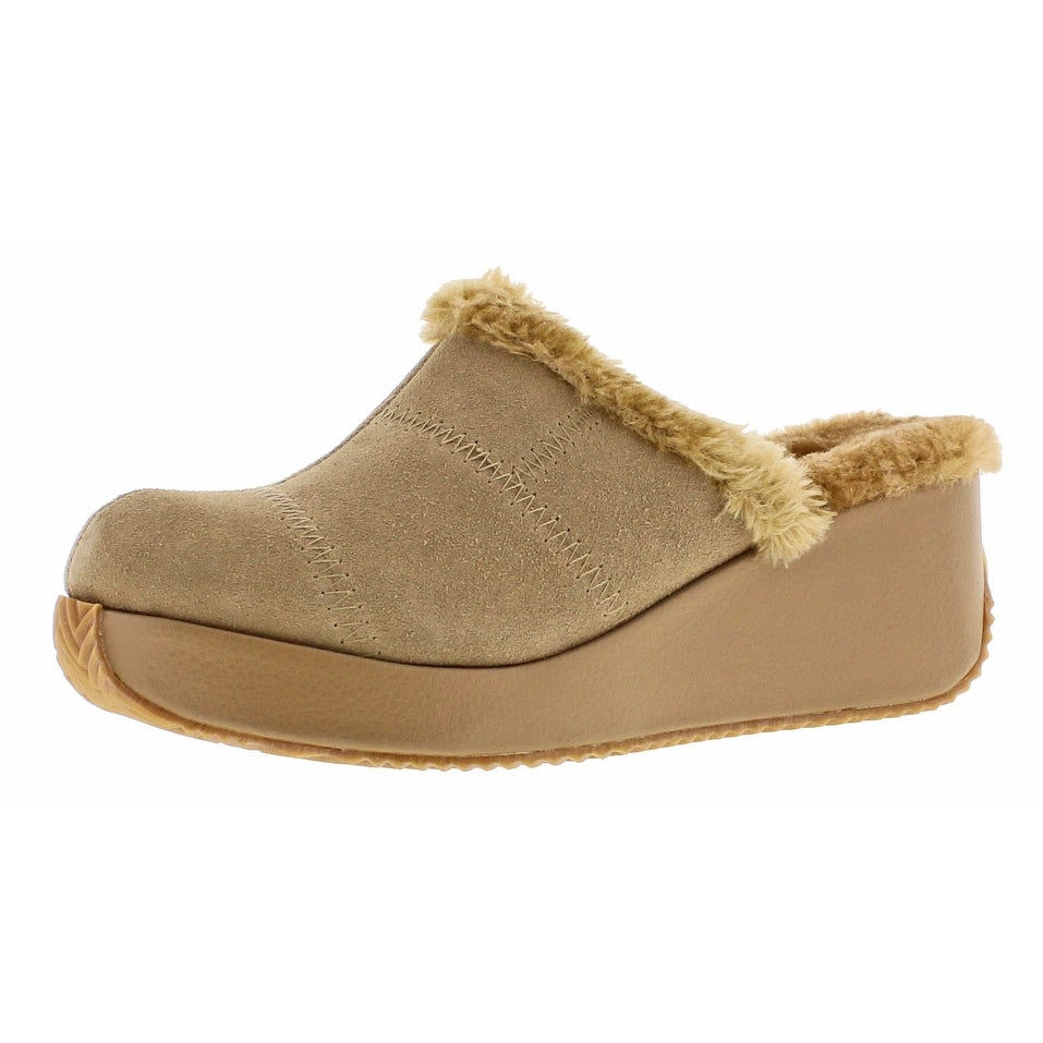 05de9e4c266 Shop Volatile Impressive Women s Faux Fur Wedge Mule Clogs - Free Shipping  On Orders Over  45 - Overstock - 18880470