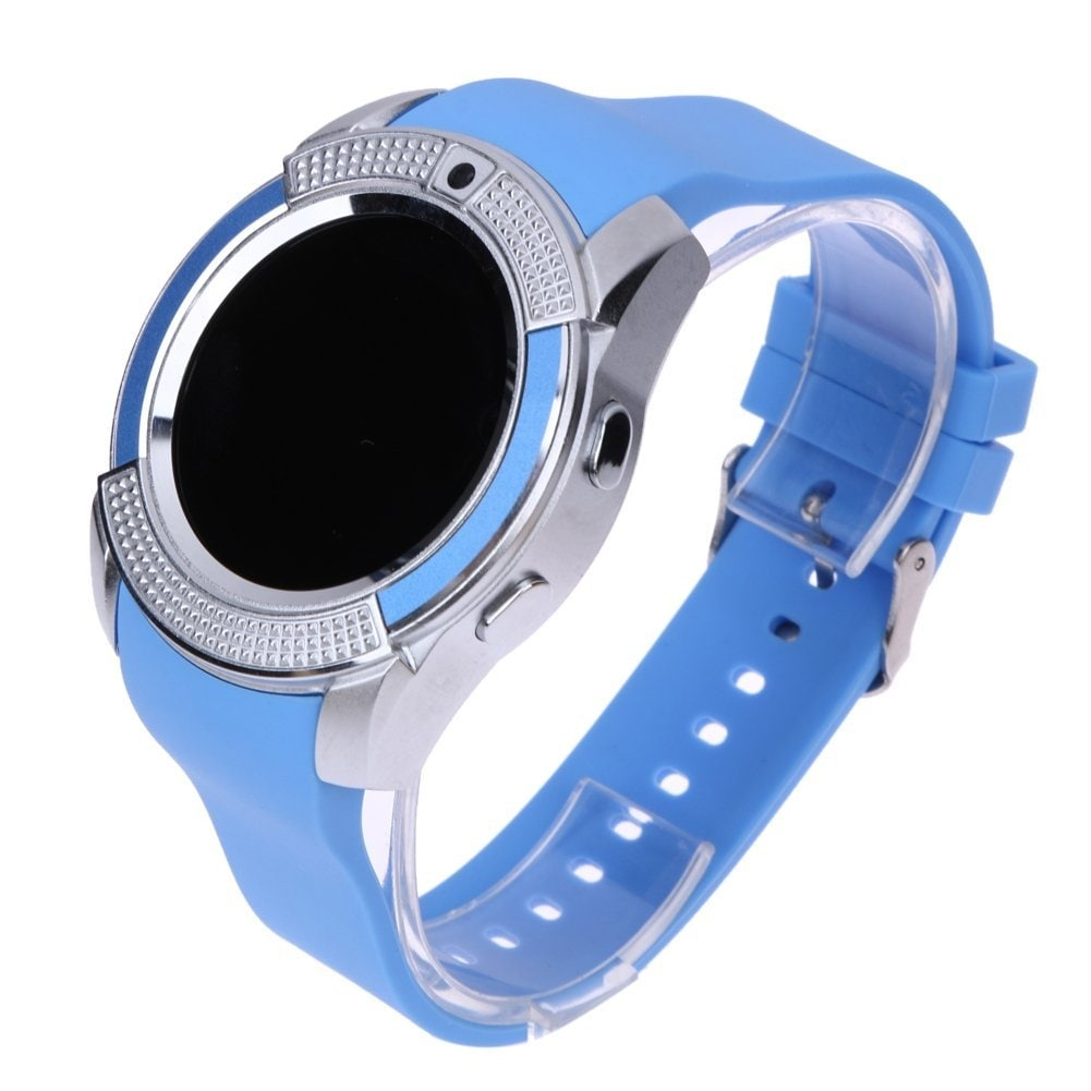 Shop TechComm V8 Smart Watch Fitness Tracker with Camera - Free Shipping On Orders Over $45 - Overstock - 18095899