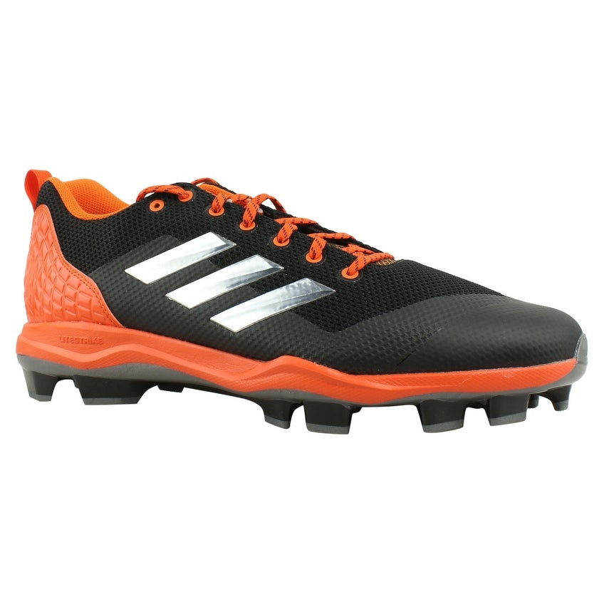 758a31c1ef5 Shop Adidas Mens Poweralley 5 Black Baseball Cleats Size 15 - On ...