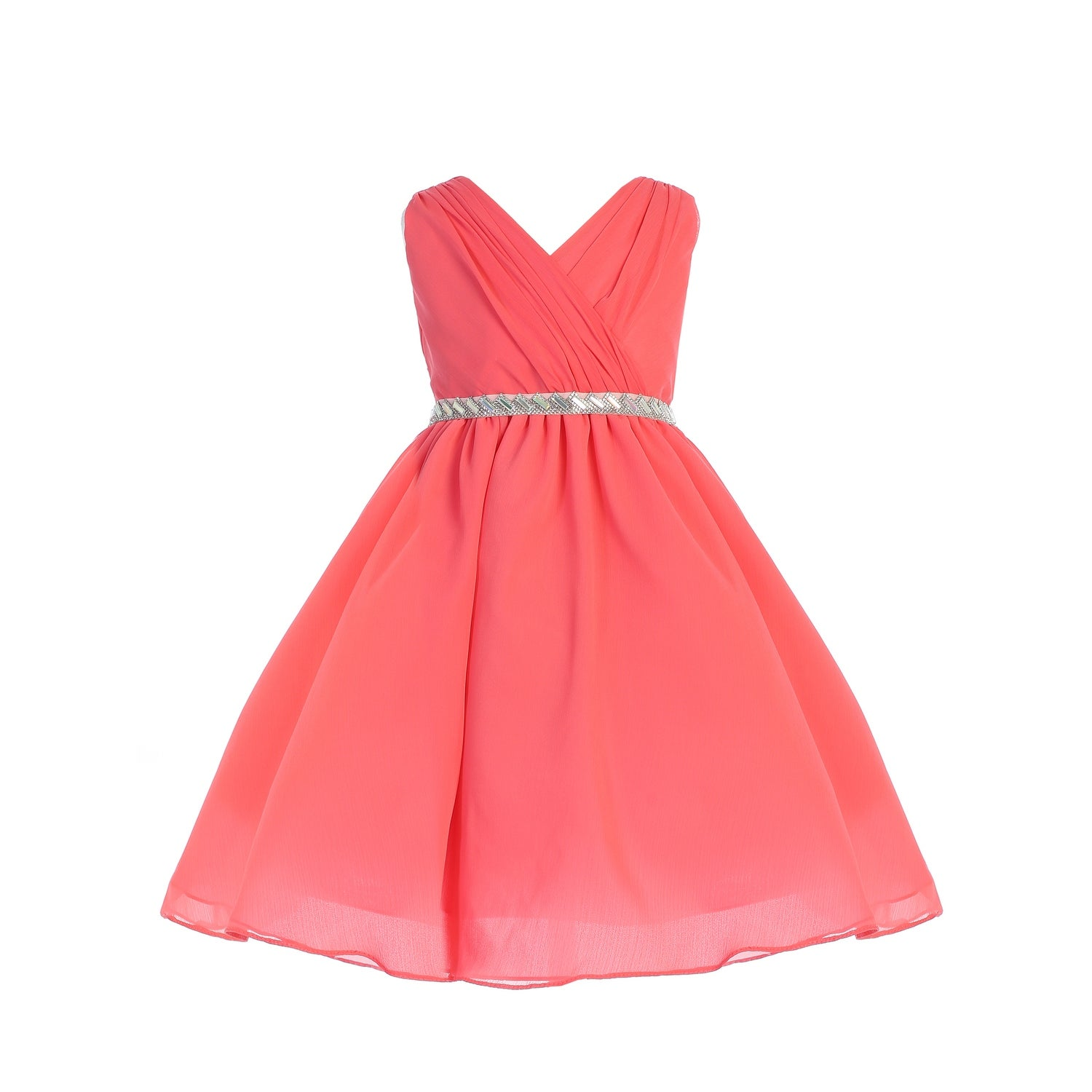 44711aa0cf593 Coral Flower Girl Dresses For Toddlers - raveitsafe