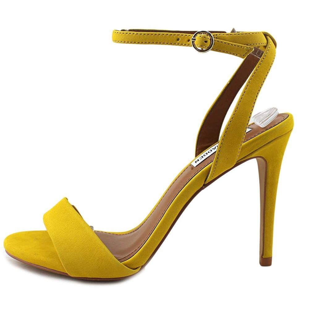 0d14d9549 Shop Steve Madden Reno Yellow Sandals - Free Shipping Today ...