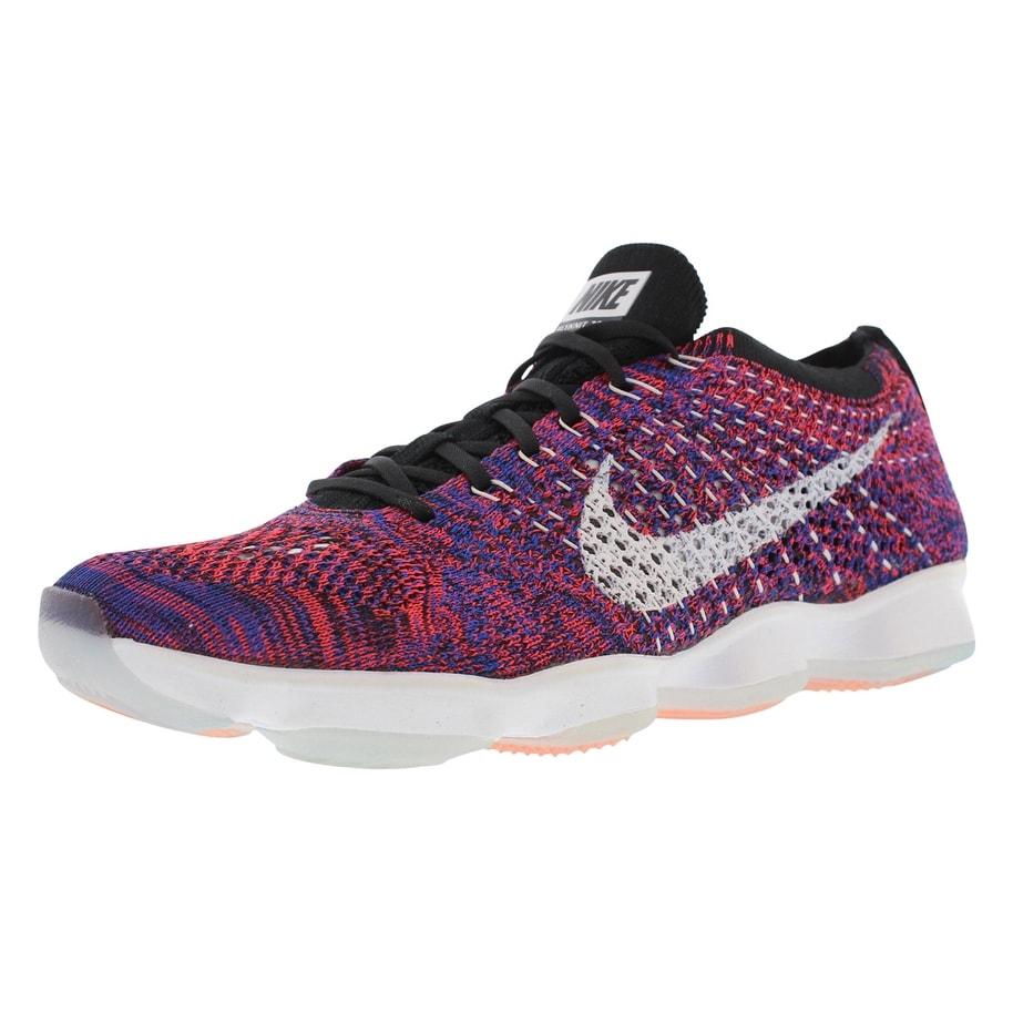 d1e716f0ff37 Shop Nike Flyknit Zoom Agility Running Women s Shoes - 7.5 B(M) US ...