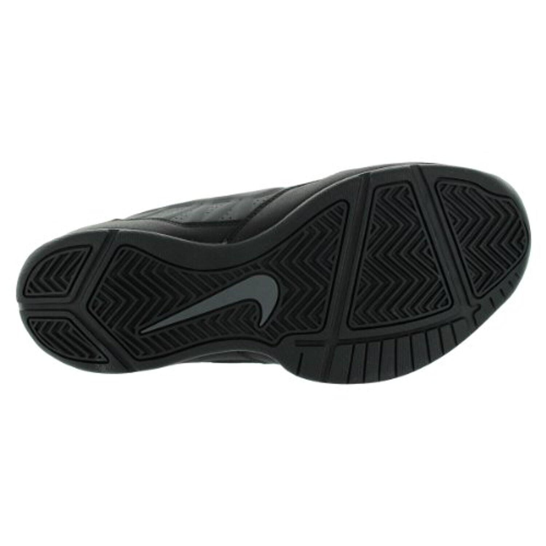 bd53b473200 Shop Nike Men s Air Ring Leader Low Dark Grey Black Basketball Shoe Men US  - dark grey   black - Free Shipping Today - Overstock - 18278133