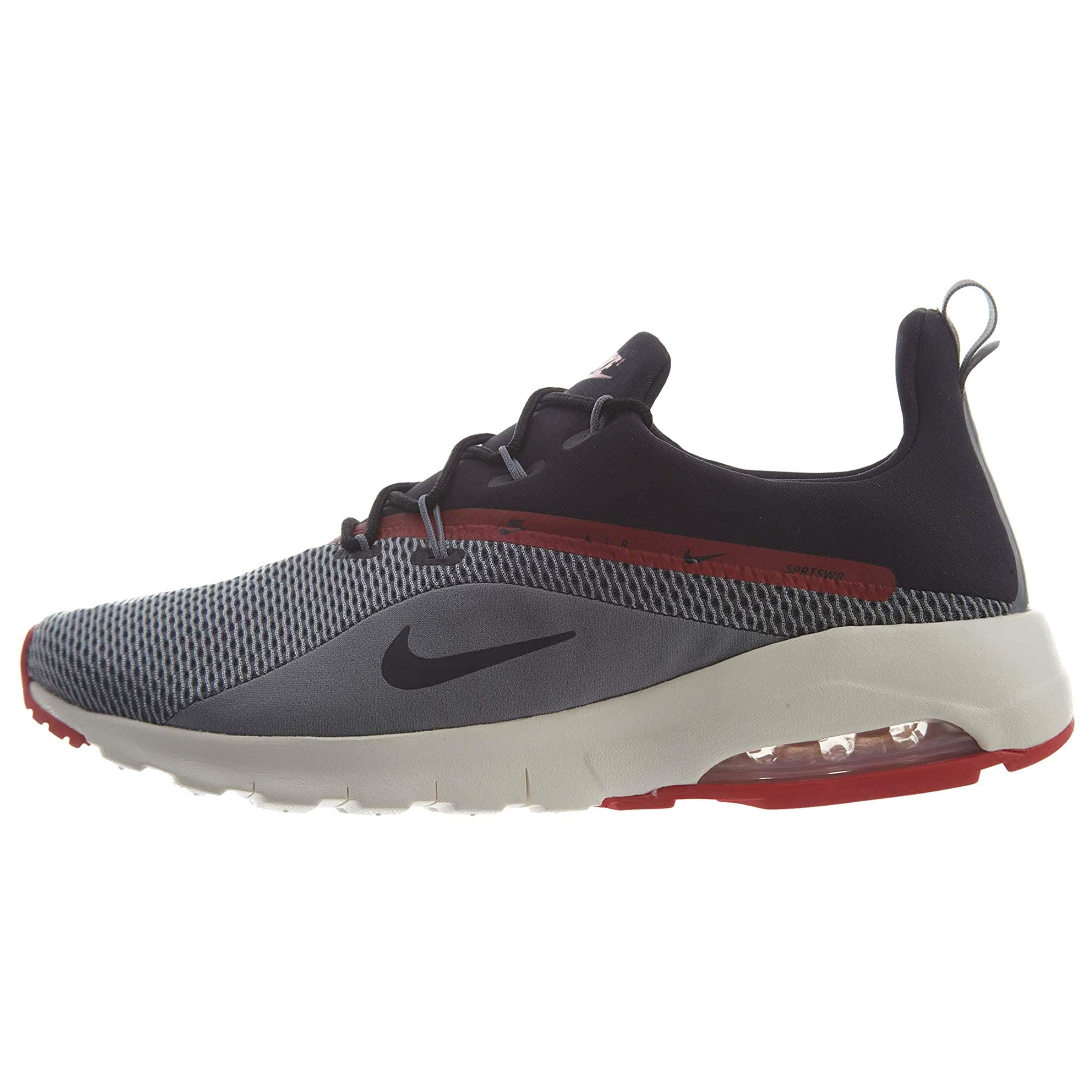 fbfdcc3737 Shop Nike Men's Air Max Motion Racer 2 Sneakers, Grey/Black - Free Shipping  Today - Overstock - 27125064