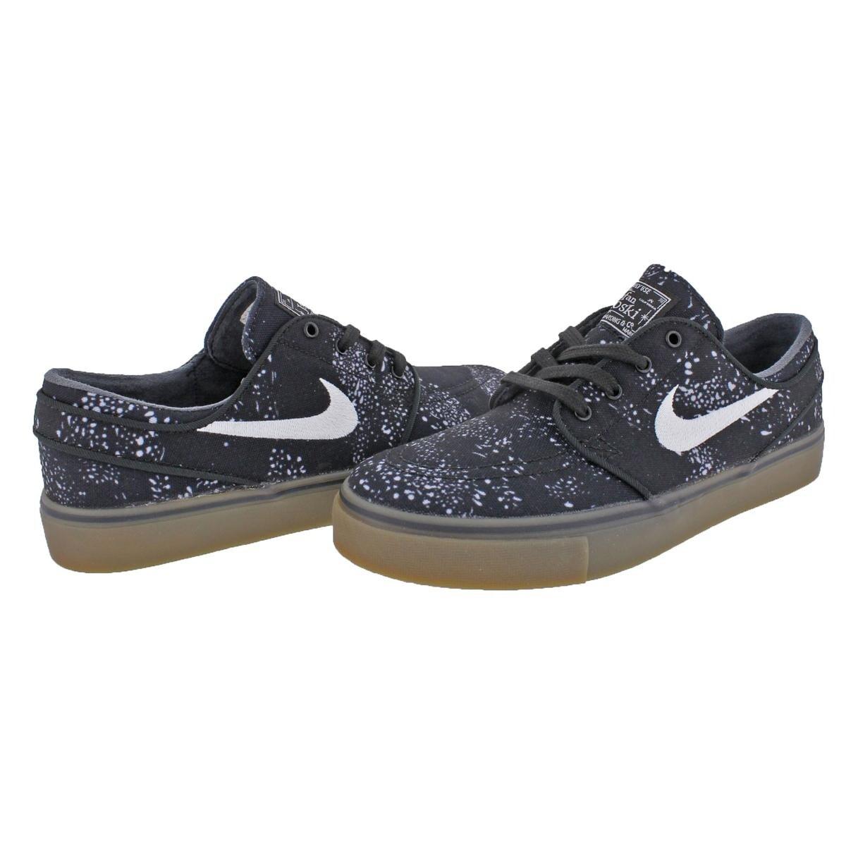 290d977528df8 Nike Mens SB Stefan Janoski Canvas PRM Skateboarding Shoes Canvas Printed